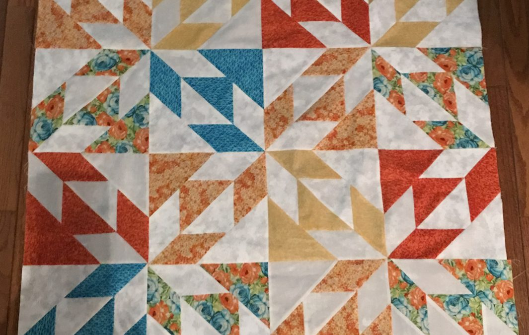 Hunter Star Quilt Along with Fat Quarter Shop